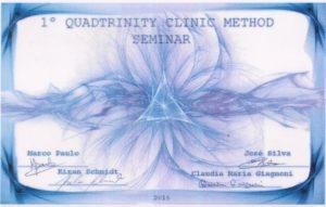 Attestato Bioquadtrinity Clinic Method I livello